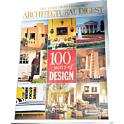 """Architectural Digest: The Twentieth Century, 100 Years of Design,"" April 1999"