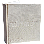 """MINIMUM"" – An Essay on Reduction, Simplicity, Austerity, Repetition by John Pawson"