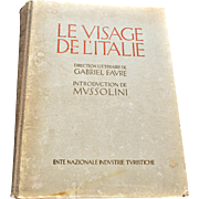 """Le Visage de L'Italie"" by Gabriel Favre (""The Face of Italy"")"