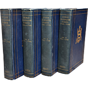 The Diaries of George Washington 1748-1799, in Four Volumes