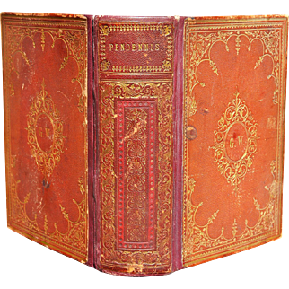 """""""Pendennis - The History of Pendennis"""" Vol. 1 & 2 by William Makepeace Thackeray"""