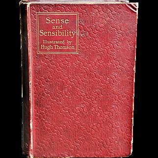 """""""Sense & Sensibility"""" – A Novel by Jane Austen"""