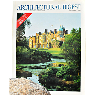 """Architectural Digest: Special Issue, England!"" January 1991"