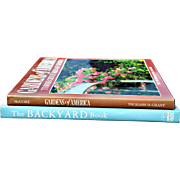 """The Backyard Book"" & ""Gardens of America: Three Centuries of Design"""