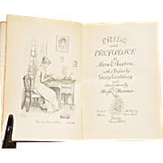 """Pride & Prejudice"" by Jane Austen – Peacock First Edition, 1894"