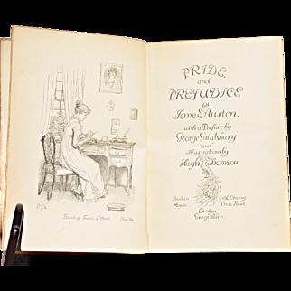 """Pride & Prejudice"" by Jane Austen – Peacock First Edition, 1894"