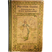 """Mother Goose: or the Old Nursery Rhymes,"" Illustrated by Kate Greenaway"
