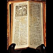"""""""Le Nouvel Almanach de Poche, Pour L'année 1834 à Lille"""""""