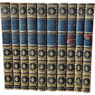 Ten Vintage (1922-1929) Volumes of Essays and Criticism by Walter H. Pater