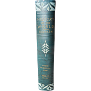 """History of the World, Vol II, Greece, Macedonia, Rome"" by John Clark Ridpath 1936"