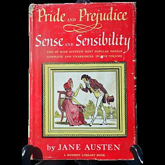"""Pride & Prejudice"" + ""Sense & Sensibility"" by Jane Austen in one volume from The Modern Library"