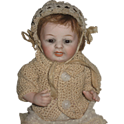 KESTNER 203-6   all bisque character BABY-8 inch