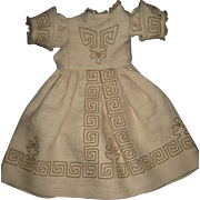 DRESS for Fench FASHION DOLL  for around 17-8 inch doll