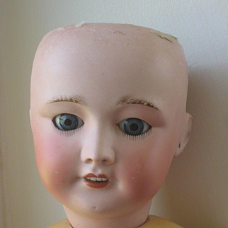 signed Jumeau Body size 10 with sfbj head hairline