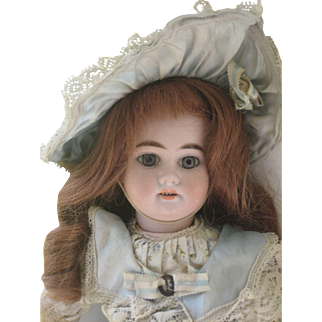 Armand Marseille doll   1894- 16 inch.Antique dress
