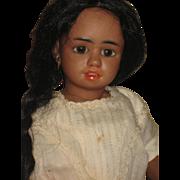 BLACK SIMON & HALBIG character, very rare doll  1358 11 inch