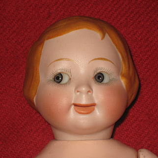 Very Rare Jubilee Googly Doll  163  9,8 inch