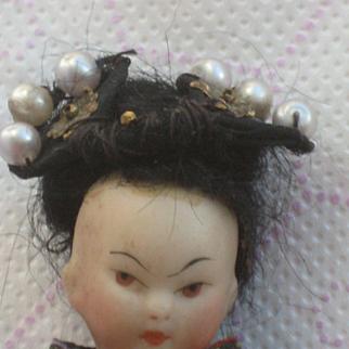 Oriental Mignonette Doll. 4,5 inch