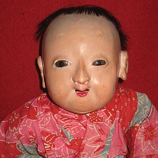 Antique Ichimatsu doll  16,2 inch.