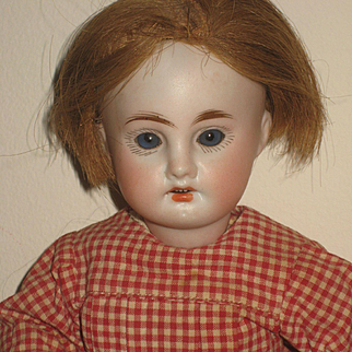 All Original Dressed Early  Bleuette Doll. 27 cm. 6/0