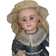 Pretty  Etienne.7.Denamur French Doll  17 inch