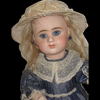 Pretty  Etienne.7.Denamur French Doll  17 inch