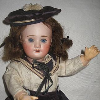 Pretty Bleuette Doll. SFBJ 60 8/0