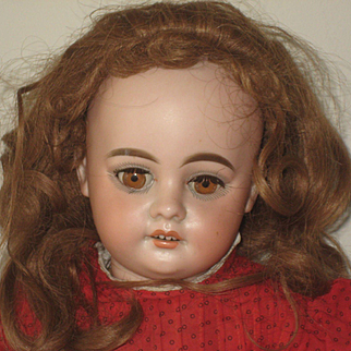 Pretty Faced Armand Marseille Doll  1894-DEP  22 inch