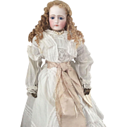 Early Portrait Jumeau Fashion Doll- 22 inch