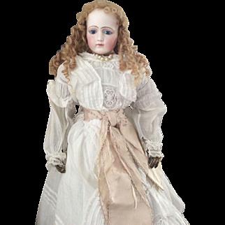 Early Portrait Jumeau Fashion Doll- 22 inch