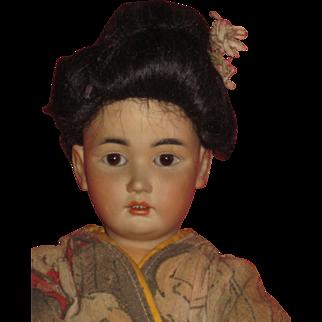 Oriental Doll Simon &Halbig 1329 size 4 -14 inch