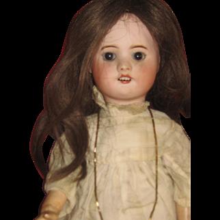 Pretty Antique Dressed SFBJ 60 Doll 17 inch,