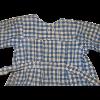 """L""""ENFANT SAGE  bleuette dress  1933-34"""