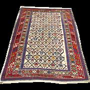 Antique Caucasian rug with Shiravan design circa 1900