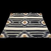 Antique Hand Woven Navajo Chief Blanket Circa 1914