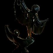 A Spectacular Art Déco Tandem...  1920's BAT DANCERS of the ART, UNITE!