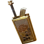 NACON / Laura Ashley: Travel, Pocket, Purse Perfume Atomizer Sprayer with Etched Rose