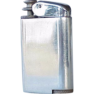 Vintage ''Perfum-atic'': Silver Tone KENT Pocket Perfume Atomizer - Lighter Shaped - Great Gift