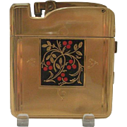 """GREAT GIFT IDEA - D1 - Stunning """"LADY-PACT"""" Novelty Lighter / Compact / Mirror by Ronson: A wonderful Purse / Travel Arts Deco Collectible from circa 1930's!"""