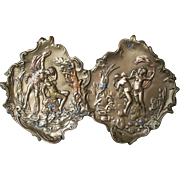 GREAT GIFT IDEA - D1 - Nymph Plates - Signed Art Nouveau Style Art Nouveau  Nymphs Wall Plaques - Signed Vintage Plates