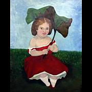 19th C. Portrait Painting