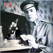 Elvis Presley vinyl album ELVIS VINTAGE 1955 on Oak Records from 1990, SEALED copy