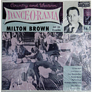 "10"" Limited edition LP by Milton Brown and His Brownies, 1930s western swing music"
