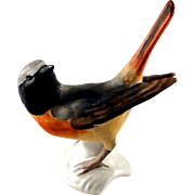 Vintage Goebel Redstart bird figurine, excellent condition