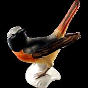 Vintage Goebel Redstart bird figurine, excellent condition