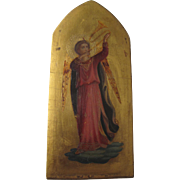 19th C. icon with provenance