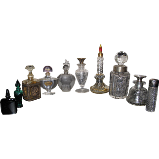 Vintage Perfume Bottle grouping