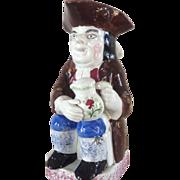 18th Century Antique English Pearlware Toby Jug  circa 1795