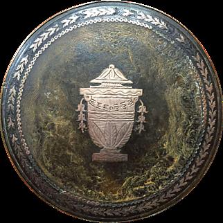 19th Century Faux Tortoiseshell Snuff Box   ca 1800