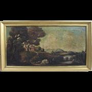 Antonio Travi (b1608) Italian Old Masters Baroque Original Oil Painting